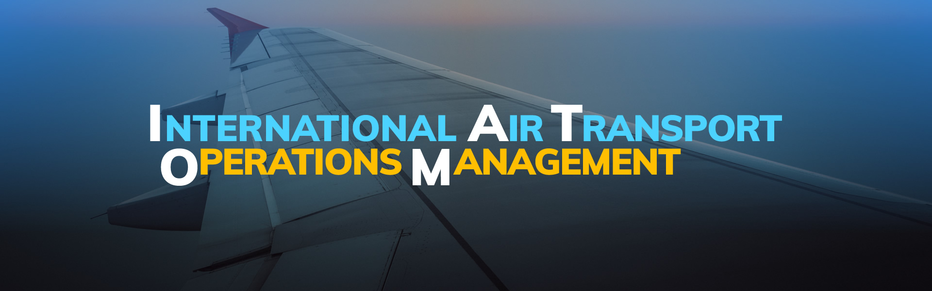 MSc in International Air Transport Operations Management