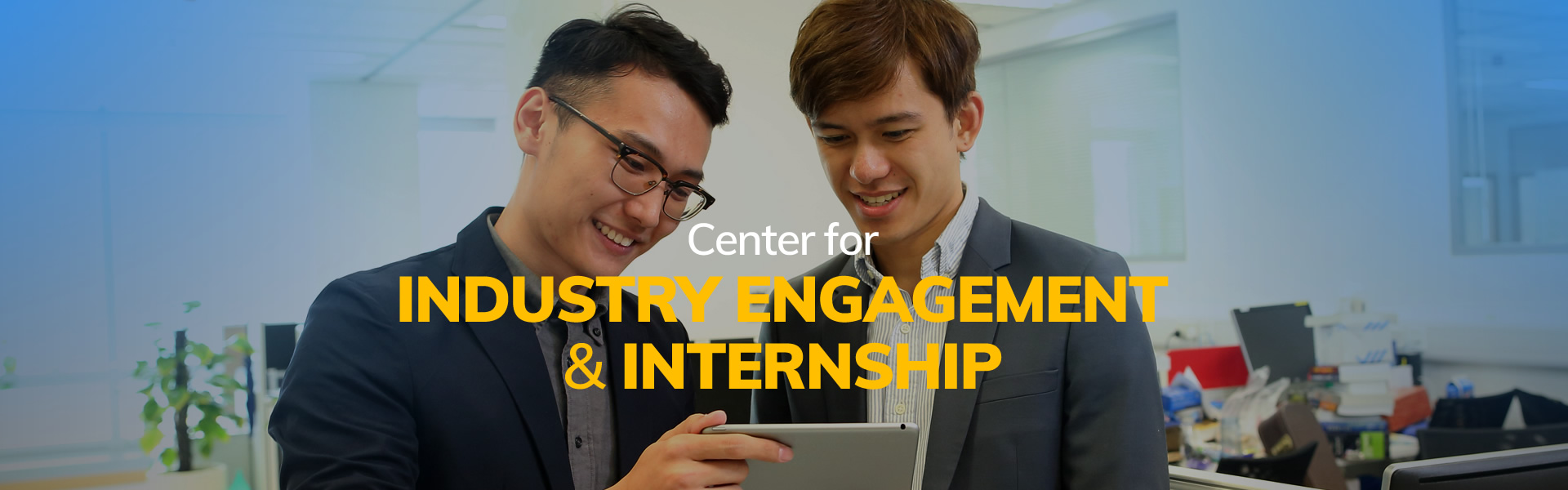 Center for Industry Engagement & Internship