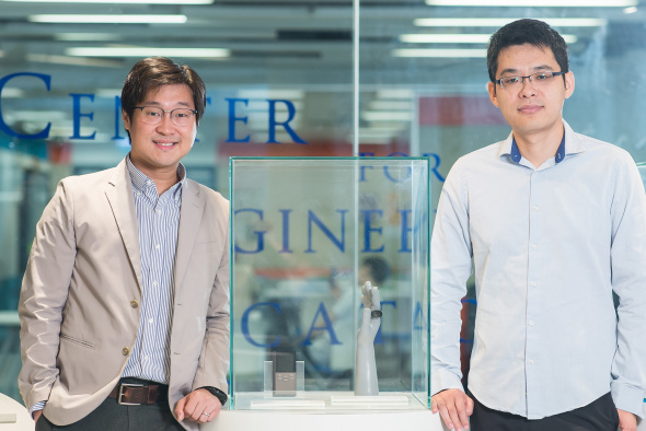 2019 NSFC Excellent Young Scholars: Prof. Anthony Leung (left) and Prof. Wang Jiguang