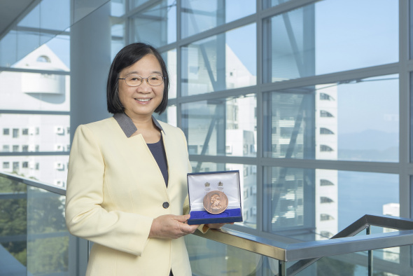 Prof. Kei May Lau is the first-ever woman winner of the Institution of Engineering and Technology's J. J. Thomson Medal for Electronics since it was first presented 44 years ago.