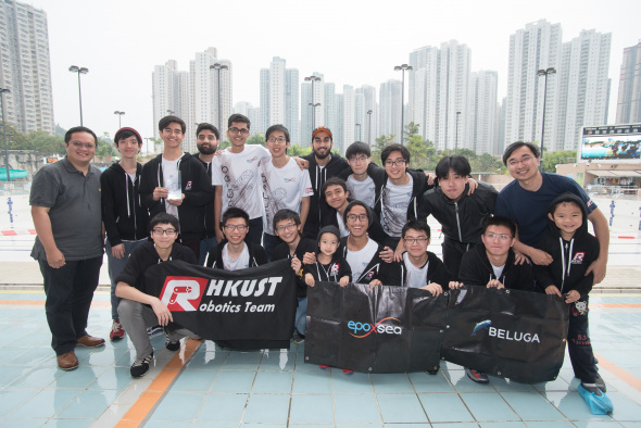 The HKUST Remotely Operated Vehicle (ROV) Team, which consists of 15 engineering undergraduates, won championship in the 12th Hong Kong Regional of the MATE International ROV Competition and will represent Hong Kong to take part in the MATE International ROV Competition 2017 in Long Beach, California, US on June 23-25.