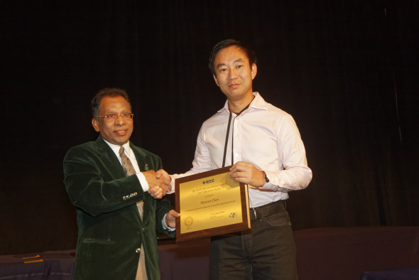 Prof Mansun Chan received the IEEE Electron Devices Society Education Award at the 2017 IEEE International Electron Devices Meeting on December 4, 2017 in San Francisco, US.