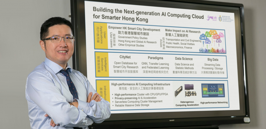 Prof. Chen's research sets a new paradigm for Hong Kong as a smart city.