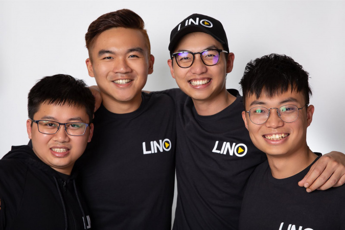 Qifeng co-founded Lino with three partners he met in the San Francisco Bay Area during his PhD studies. The company offers a decentralised livestream platform using blockchain technology.