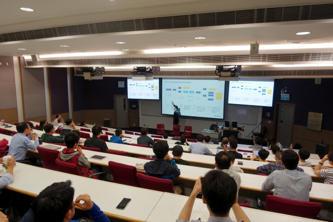The first talk of ECEAA Expert Talk Series with the theme of AI Technology and Opportunities was recently held on a Saturday before the end of Spring semester at HKUST Campus.
