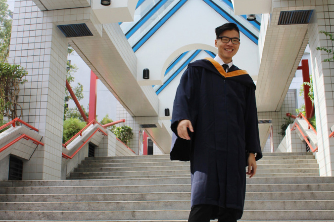 Alan is grateful for all he has gained from HKUST, which has put him on the path to his dream career in the United States.