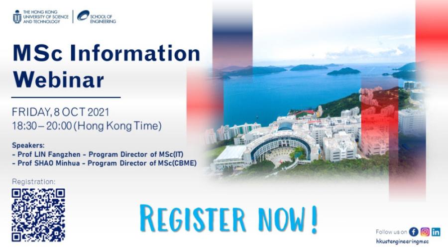 MSc Information Webinar