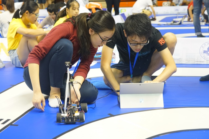 NXP Cup National University Students Intelligent Car Race