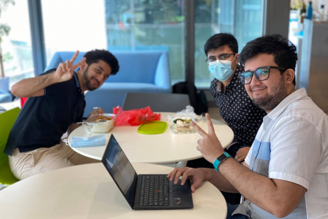 FutureNow hired three interns – all from HKUST.