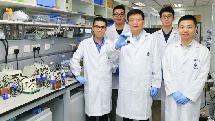 HKUST-led Research Successfully Develops Rechargeable Liquid Fuels