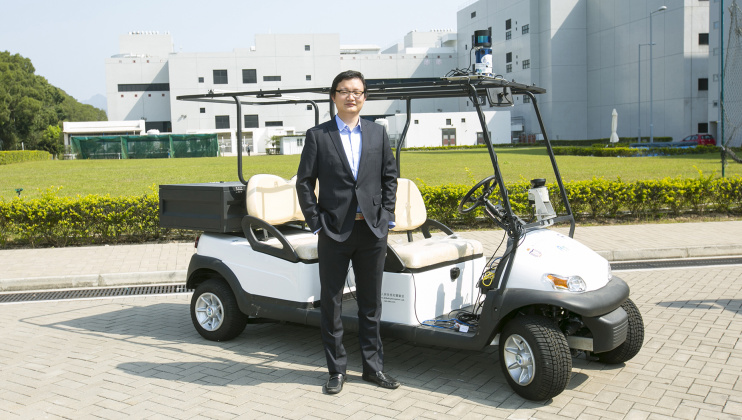Autonomous Vehicles Developed by HKUST Engineering Professor Serve the Community during COVID-19 Outbreak in Mainland China