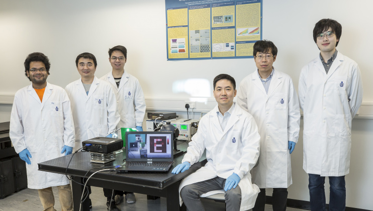 Prof. FAN Zhiyong Leads His Team to Publish Sci Fi-Inspired 'Super Human Eye' Research in Nature
