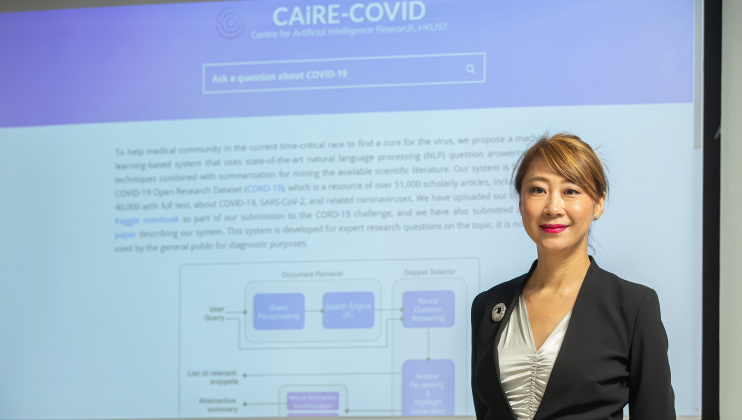 Prof. Pascale FUNG Helps to Debunk COVID-19 Myths with Science