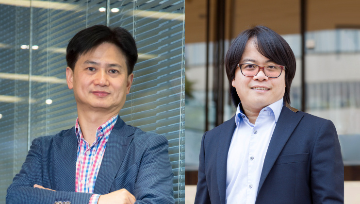 Prof. Charles Ng Wang-Wai (left) and Prof. Hui Pan were elected as the Royal Academy of Engineering's Fellow and International Fellow respectively.