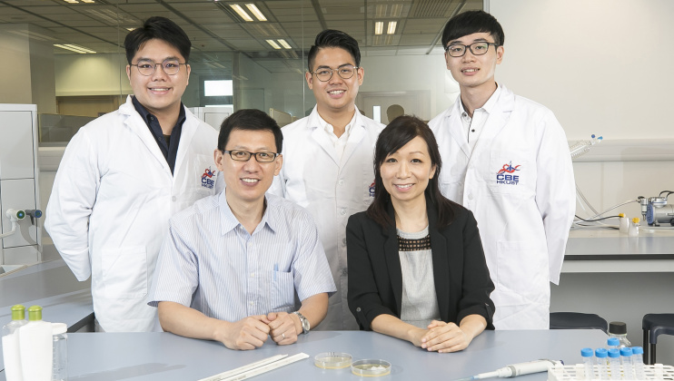 Chemical and Biological Engineering Alumna, Students and Faculty Join Hands in Product Commercialization