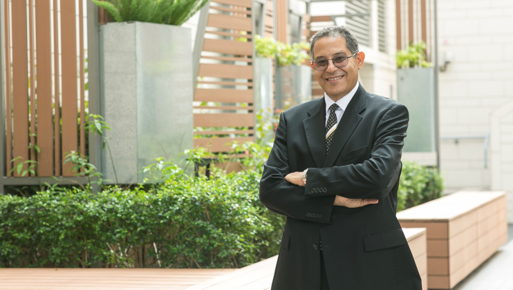 Prof. Khaled B. Letaief, a teacher-scholar with groundbreaking research findings.