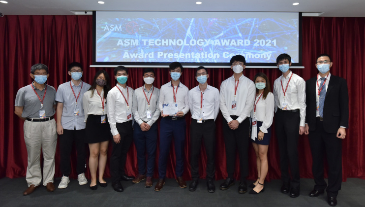 Two nominated teams from HKUST Engineering presented their project concepts and details, and were recognized for their excellence in technology and innovation.