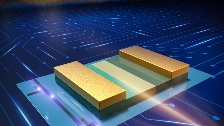 The fabricated high-performance III-V photodetector on a monolithic InP/SOI platform for application in silicon photonics